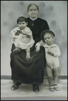 la yaya y los nietos