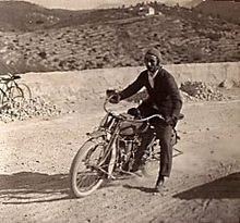 Motos de Antonio Vildósola Montemayor