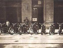 Tienda de Motos Indian de Antonio Vildósola Montemayor.
